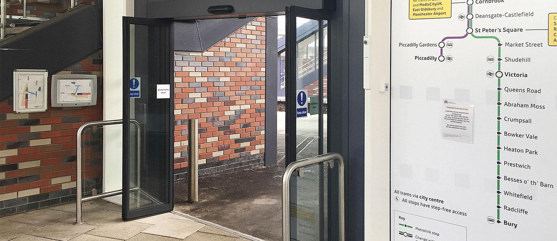 Automatic door bus interchange