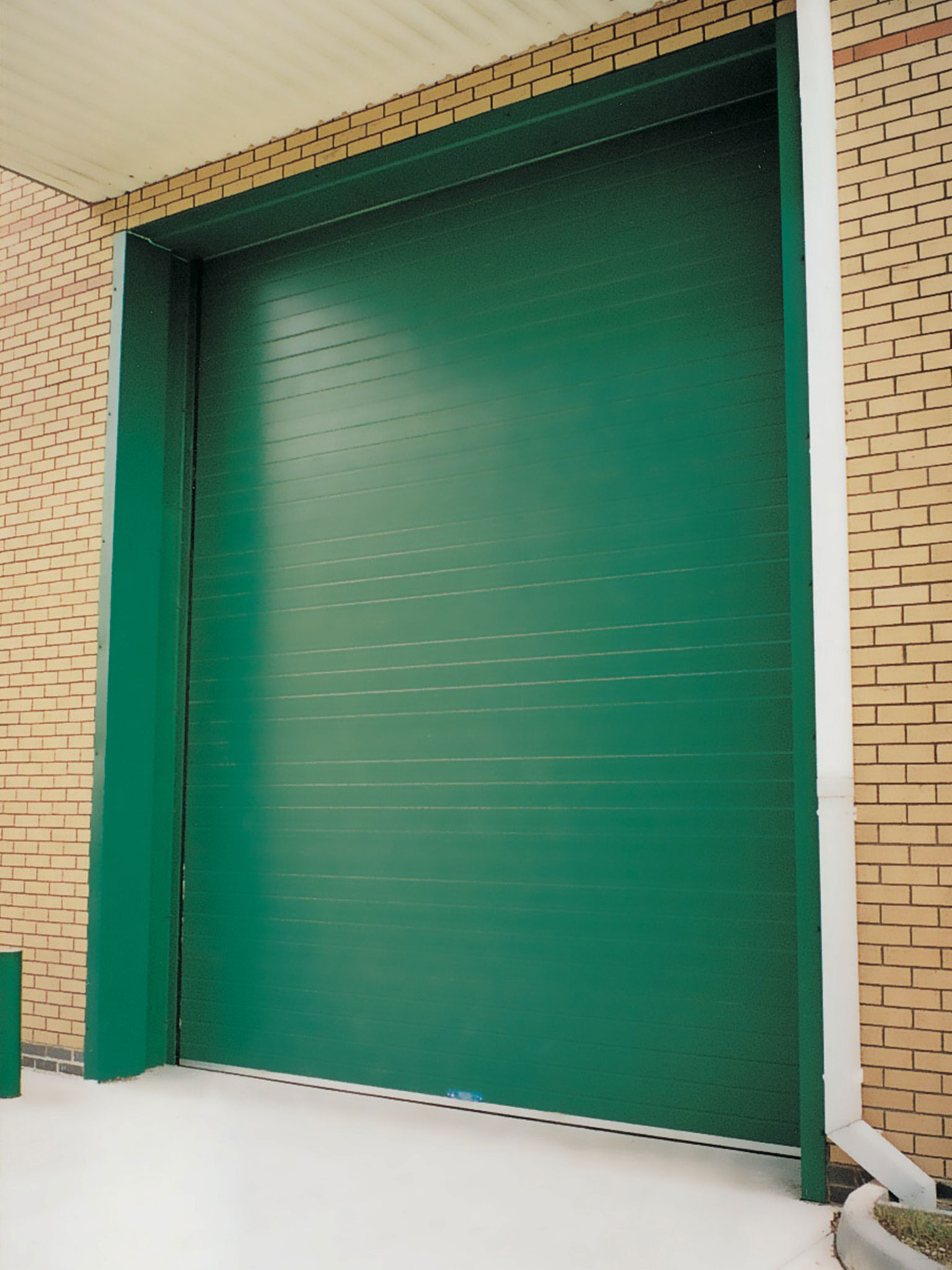 Sectional Overhead Door green